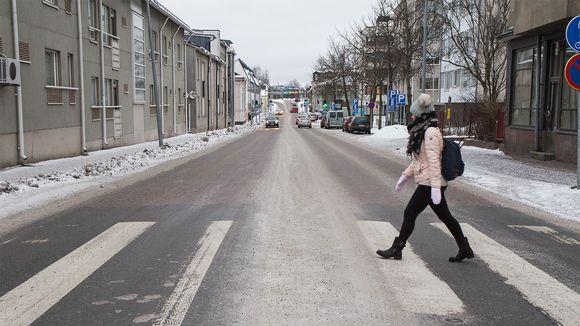 Aleksanterinkatu Oulun keskustassa