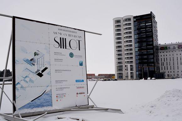 Oulun Toppilansalmen siilotalo