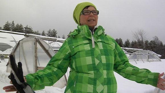 Terttu Tuovila, puutarhuri Kuusamo
