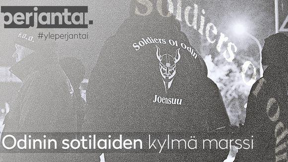 Video: Perjantai-dokkarissa marssitaan Odinin sotilaiden perässä läpi Joensuun yön.