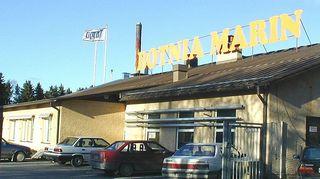 Botnia Marinin venetehdas.