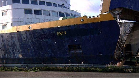 Onyx Vaasan satamassa