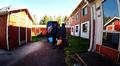 Turvapaikanhakijoita Tornion vastaanottokeskuksessa