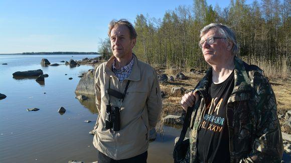 Christer Hangelin ja Raimo Vahtera.