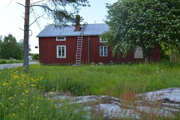 Bergössä vanha talo