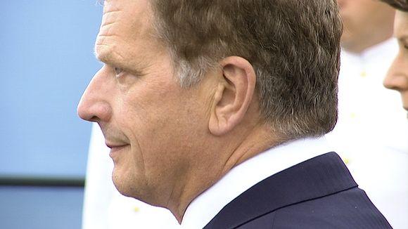 Presidenti Sauli Niinistö.