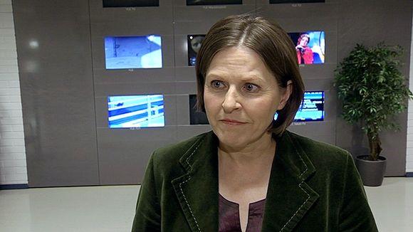 Valtion omistajaohjauksesta vastaava ministeri Heidi Hautala.