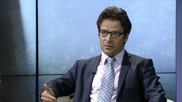 Ympäristöministeri Ville Niinistö.
