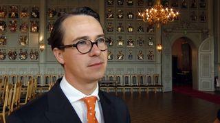 Puolustusministeri Carl Haglund