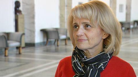 Sisäministeri Päivi Räsänen.