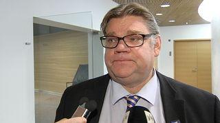 Perussuomalaisten puheenjohtaja Timo Soini.