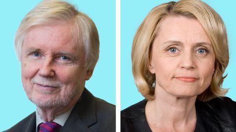 Erkki Tuomioja ja Päivi Räsänen.