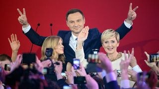 Andrzej Duda valittiin Puolan presidentiksi.