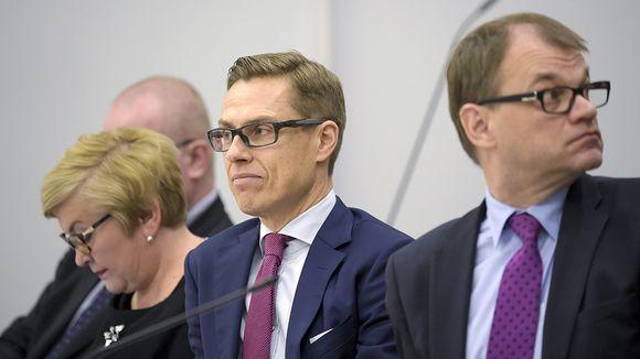 Video: Valtiovarainministeri Alexander Stubb eduskunnan täysistunnossa 15. joulukuuta 2015.