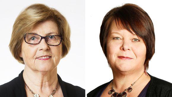 Lea Mäkipää ja Terhi Kiemunki.