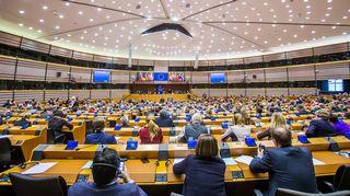 Mini-täysistunto Euroopan parlamentissa 1. helmikuuta Brysselissä.