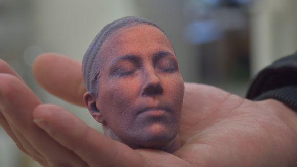 3D tulostettu ihmisen pää