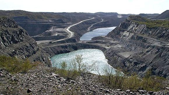 Kirkkoniemen kaivos Pohjois-Norjassa.