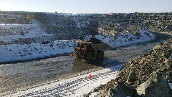 Kevitsan kaivos Sodankylässä.