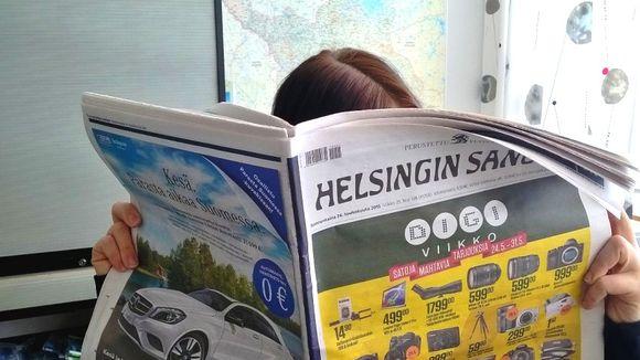 Helsingin Sanomien lukija