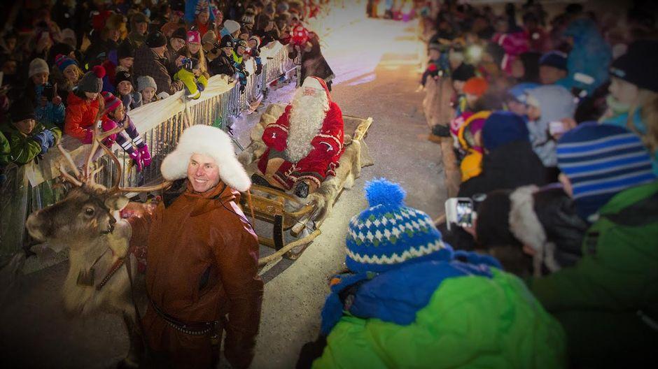 Joulupukki matkaan 2015 Napapiirin Pajakylä