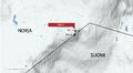 Haltin huippu 1331 mpy on Norjan puolella Kåfjordin kunnassa. Suomen korkein kohta 1324 on Haltin rinteellä rajapyykillä 303B.