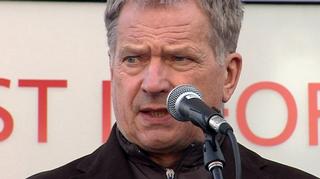 presidentti Sauli Niinistö Rovaniemellä