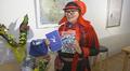 Kirjailija Kerttu Vuolabin teos Valon airut sai ensimmäisen Lapppi-kirjallispalkinnon.