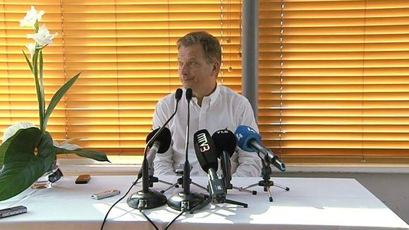 Video: Sauli Niinistö.