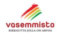 Vasemmistoliiton uusi logo.