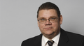 Perussuomalaisten puheenjohtaja, kansanedustaja Timo Soini
