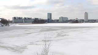 Espoon Keilaniemessä sijaitsee useiden Suomen suurimpien yritysten pääkonttoreita.