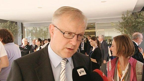 Komission varapuheenjohtaja Olli Rehn