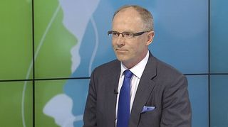 Finnairin toimitusjohtaja Pekka Vauramo Päivän kasvo -ohjelman vieraana.