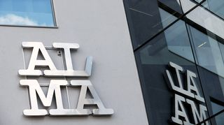 Alma Median toimitila.