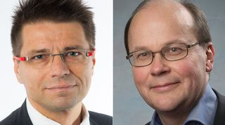 Jussi Koskinen ja Roger Wessman