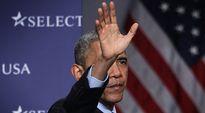 Presidentti Barack Obama puhui Select USA investointitapahtumassa 23. maaliskuuta Marylandin National Harborissa.
