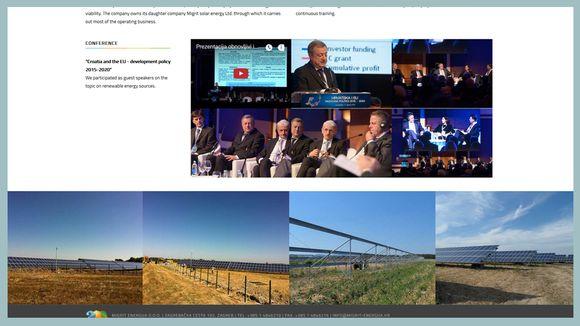 Kuvakaappaus Migrit energija -yhtiön nettisivuilta.