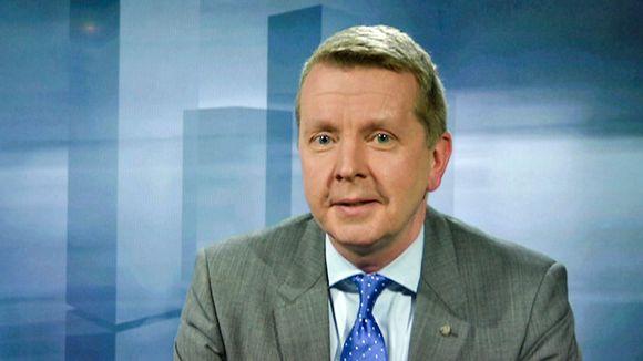Video: Soneran toimitusjohtaja Valdur Laid kertoo Ylen taloustoimituksen Verkkovieras-haastattelussa, miltä työskentely ulkomaisena johtajana tuntuu.