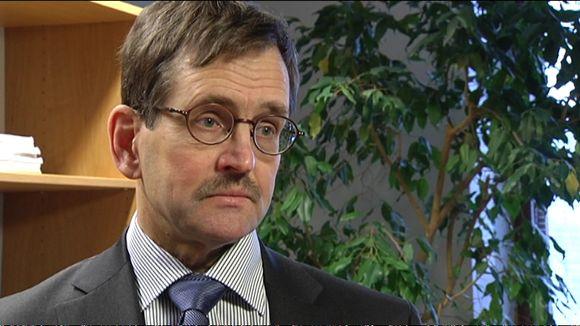 Etlan toimitusjohtaja Vesa Vihriälä, 25.2.2016