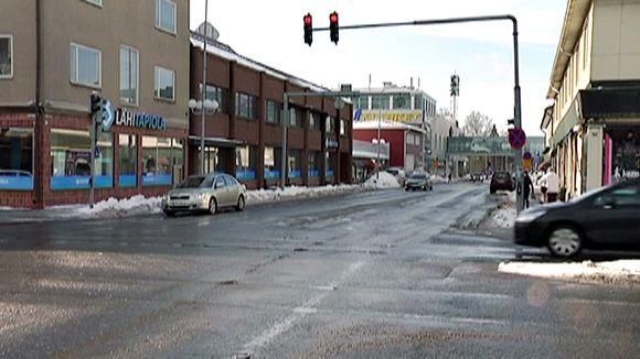 Kaupunkinäkymä Salosta.