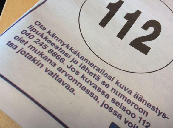 Nokian Uutisissa julkaistu vaalimainos.