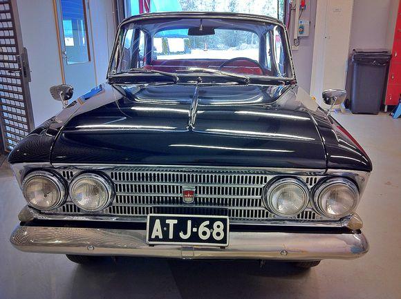 Sylvi Kekkosen auto Mobiliassa