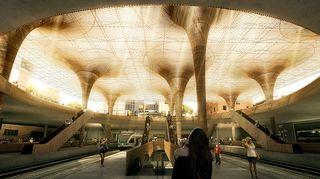 Kilpailun voittajatyön tekivät tanskalainen COBE ja suomalainen Lundén Architecture yhteistyössä Ramboll Finland'n ja Newsec'n kanssa.