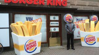 Burger Kingin julkisivu