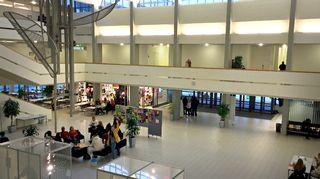 Tampereen Tredun aula.