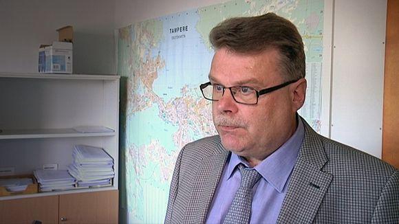 Rikoskomisario Juha Myllymäki.