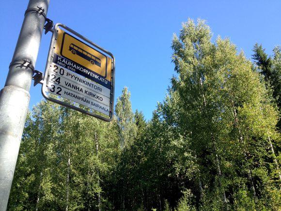Raitiotievarikon suunniteltu paikka Hervanta