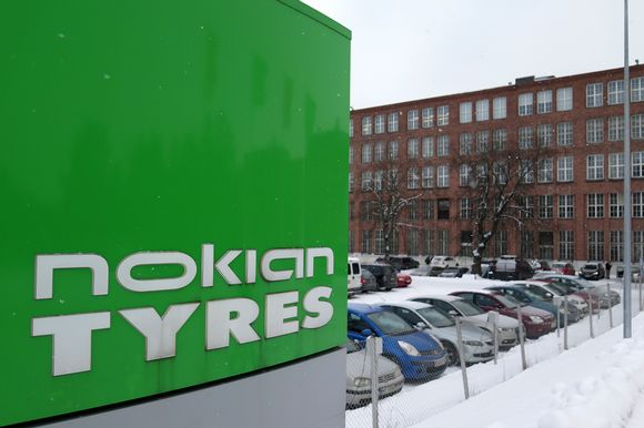 Nokian Renkaiden tehdas Nokialla