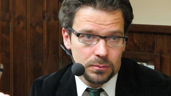 Ympäristöministeri Ville Niinistö (vihr.)
